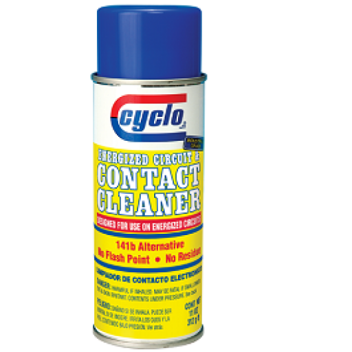 ENERGIZED CIRCUIT & CONTACT CLEANER