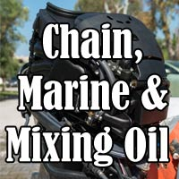 Chain, Marine and Mixing Oil